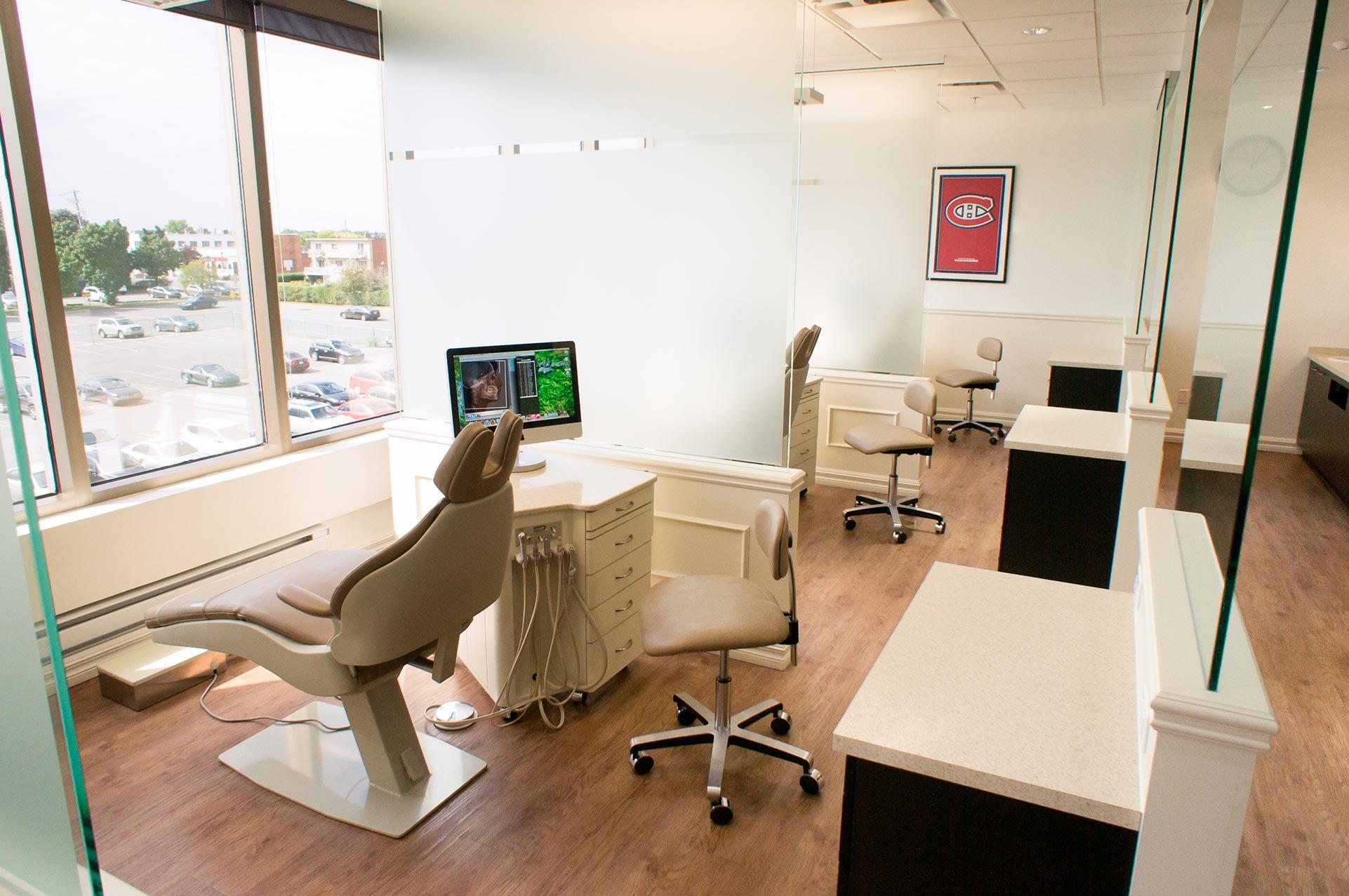 salle de traitement orthodontiste